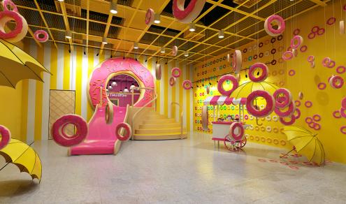 Donut Room - Photo courtesy of The Dessert Museum