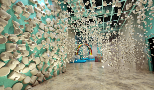 Marshmallow Room - Photo courtesy of The Dessert Museum